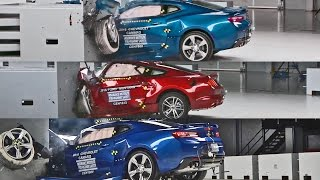 Download Crash Tests 2016 American Muscle Car - Mustang, Camaro & Challenger Video