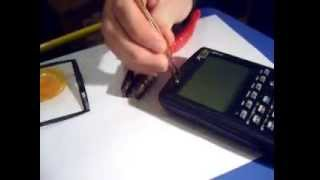 Download New HP50g Calculator -Outside and inside Video
