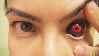 Download How to: Insert And Remove Tokyo Ghoul Sclera Contact Lenses (Fxeyes) Video