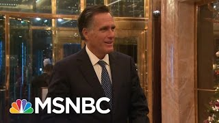 Download Mitt Romney: 'Enlightening' Discussions With Donald Trump | Rachel Maddow | MSNBC Video
