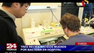 Download Tres recién nacidos mueren por bacteria en hospital del Cusco Video