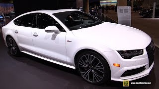 Download 2017 Audi A7 S Line - Exterior and Interior Walkaround - 2017 Chicago Auto Show Video