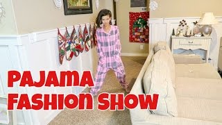 Download PAJAMA FASHION SHOW CHRISTMAS EVE | FAM TRADITIONS Video