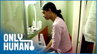 Download OCD Woman Washes Face 3 Hours Every Night | The House of Obsessive Compulsives | Only Human Video