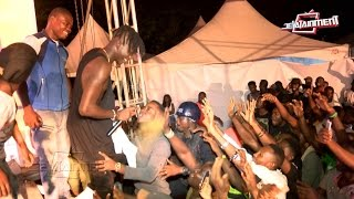 Download Stonebwoy forced back on stage to perform 'Go Higher' Video