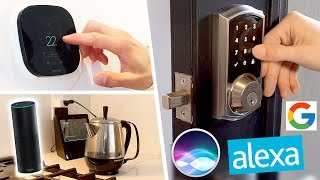 Download Top 5 Smart Home Tech of 2017 (for Amazon Echo, Google Home & Siri!) Video