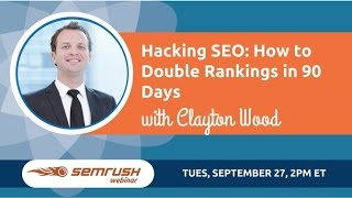 Download Hacking SEO: How To Double Rankings in 90 Days Video