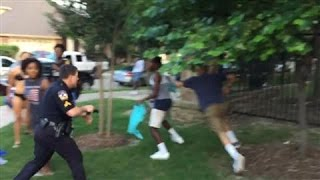 Download Raw Footage: Texas Cop Draws Gun on Pool-Party Teens Video