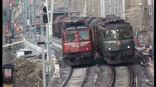 Download SBB Ae 6/6 11404 - Lok bleibt in Oerlikon liegen - Käferbergtunnel Video