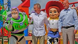 Download Toy Story Land FULL dedication ceremony with Tim Allen at Walt Disney World Video