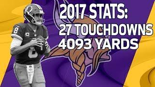 Download New Vikings QB Kirk Cousins 2017 Season Highlights | NFL Video