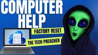 Download Factory Reset Your Windows PC NOW!!!   Window 7, 8, 10, Vista, XP   HELP IS HERE Video