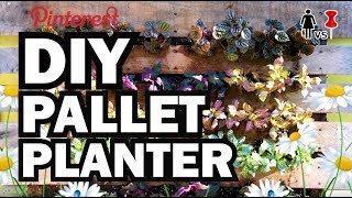 Download DIY Pallet Planter, Corinne VS Pin #35 Video