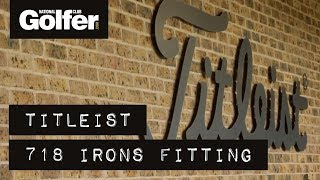 Download Titleist 718 irons fitting - Which models did we get? Video