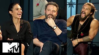Download Justice League Movie Cast Reveal Funniest Moments Together | MTV Movies Video