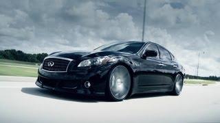 Download Infiniti M37 | Q70 on 22″ Vossen VVS-CV3 Concave Wheels / Rims Video