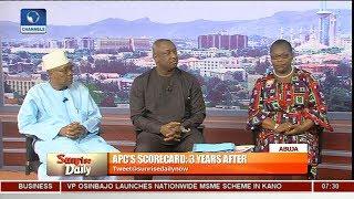 Download Keyamo Argues Buhari Govt Has Delivered As Ezekwesili, Mohammed Score APC Govt Low Pt.1 Video