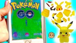 Download Cookieswirlc Plays Pokémon Go , Build A Pikachu , Pancham and Eevee Builder Playset Video