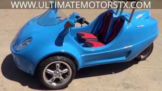 Download 2013 PANTHER MOTORS SCOOTCOUPE TRIKE-STREET LEGAL-AUTOMATIC-BRAND NEW Video