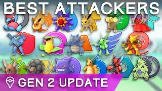 Download BEST ATTACKERS OF EACH TYPE (GEN 2 UPDATE) IN POKÉMON GO Video