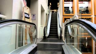 Download Soon to be replaced!: 1979 TS-Schlieren escalators @ The Main Library in Copenhagen Video