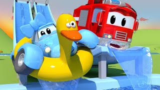 Download The Flume - The Car Patrol in Car City Police Car & Fire Truck for Kids Video