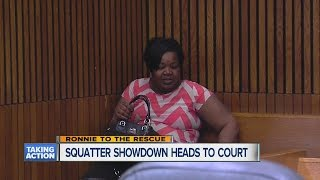 Download Squatter showdown heads to court Video