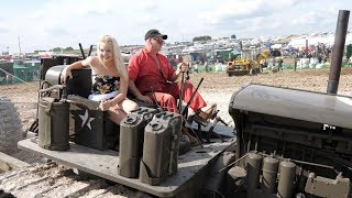 Download Deep trenching with classic Cat dozers Video