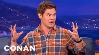 Download Adam DeVine Is Oozin' Out Of His Spanx - CONAN on TBS Video