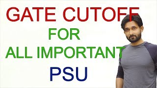 Download GATE cutoff for PSU's Video