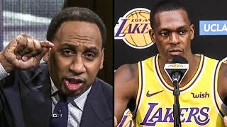 Download Stephen A. Smith BLOWS UP On Rondo After Game Video