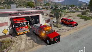 Download GTA 5 FiveM | TECF RP | #35 Volunteer Firefighter and EMS Video