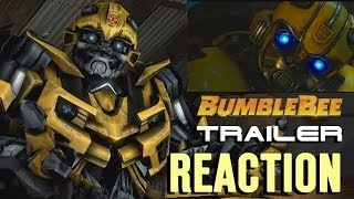 Download Bumblebee Reacts to Bumblebee The Movie Trailer (SFM Transformers Animation) Video
