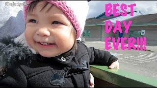 Download Baby Julianna's BEST DAY EVER! - April 26, 2014 - itsJudysLife Daily Vlog Video