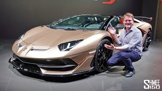 Download The Lamborghini Aventador SVJ Roadster is HERE! | FIRST LOOK Video