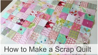 Download How to Make a Scrap Quilt Video