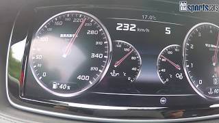 Download 0-340,4 km/h: Brabus Rocket 900 - Papenburg 3000 - AUTO BILD SPORTSCARS Video