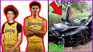 Download How LaMelo Ball just RUINED HIS LIFE AND CAREER!! LaMelo crashes LAMBO!! Video