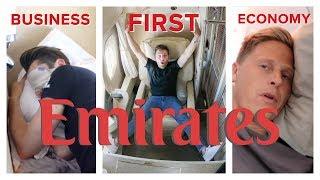 Download EMIRATES FLIGHT COMPARISON: First Class vs Business vs Economy Video