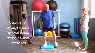 Download BEST Advanced Resistance & Balance Senior Training Video
