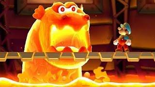 Download New Super Mario Bros U - All Castle Bosses Video