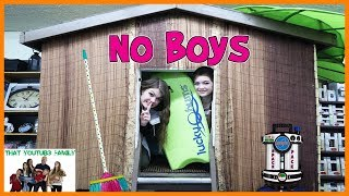 Download Boys vs Girls Fort Wars - No Boys Allowed! / That YouTub3 Family Video