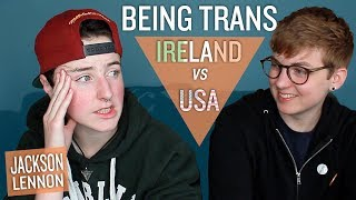 Download TWO TRANS JACKSONS: Irish vs. USA w/ Jackson Lennon Video