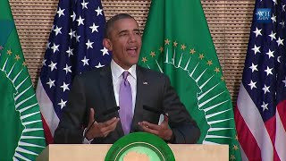 Download Obama Speaks To African Union- Full Speech Video