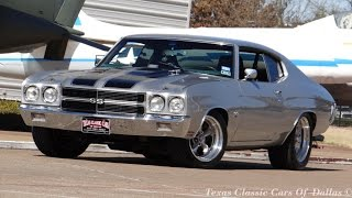 Download 1970 Silver Bullet Monster 502 Chevelle SS Video