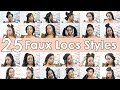 Download 25 Quick and Easy Faux Locs and Box Braids Hairstyles Video