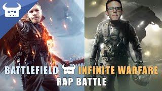Download BATTLEFIELD 1 vs INFINITE WARFARE | Dan Bull vs Idubbbz rap battle Video