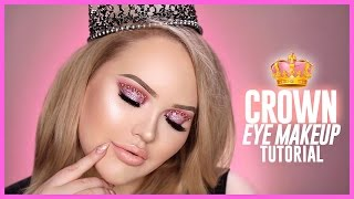 Download Trying The Viral CROWN EYE MAKEUP Look! Video