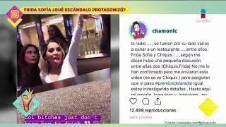 Download ¡Todo sobre el pleito entre Frida Sofía y Chiquis Rivera! | De Primera Mano Video