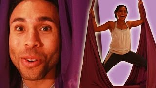Download Fitness Trainers Get Their Asses Kicked By Aerial Yoga Video